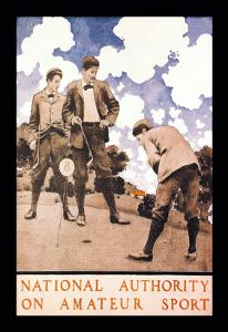 National Authority on Amateur Sport by Maxfield Parrish