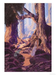 The Enchanted Prince by Maxfield Parrish