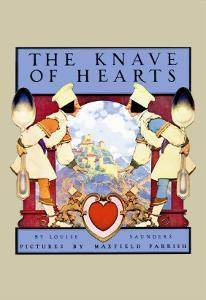 The Knave of Hearts by Maxfield Parrish