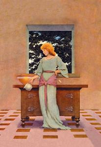 Violetta by Maxfield Parrish