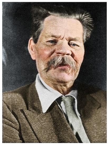 Maxim Gorky, Russian author, c1930 (1956)-Unknown-Photographic Print
