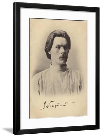 Maxim Gorky, Russian Writer--Framed Photographic Print
