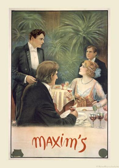 Maxim's--Art Print