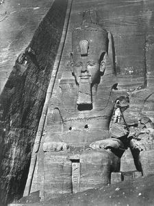 Colossal Statue, Egypt, 1852 by Maxime Du Camp