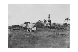 'Haute Egypte: Mosquee Et Tombeau De Mourad Bey', c1850 by Maxime du Camp