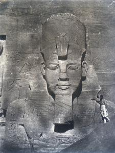 The Colossal Statue of Rameses II, 1852 by Maxime Du Camp