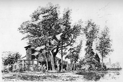 Les Acacias, C1850-1895