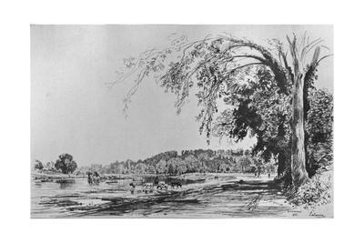 'View of Richmond from the Thames', 1871