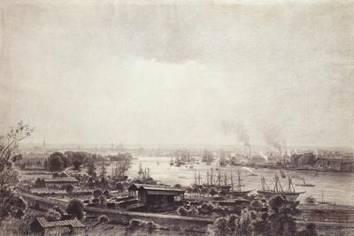 View of the Docks at Bordeaux