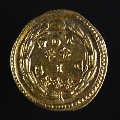 Maximian Aureus with Laurel Wreath and Inscription, Verso, Roman Coins, 3rd Century AD--Giclee Print