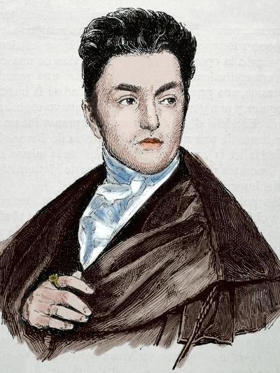 Maximilian Emanuel Von Lerchenfeld (1778-1843). Germany. Engraving. Colored.-Tarker-Photographic Print