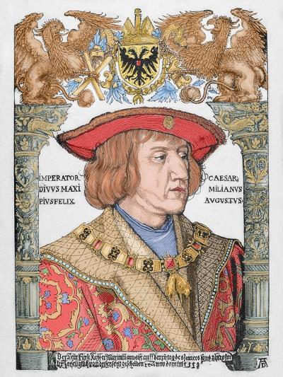 Maximilian I (1459-1519), Holy Roman Emperor--Giclee Print