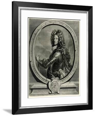 Maximilian II. Emanuel, 1884-90--Framed Giclee Print