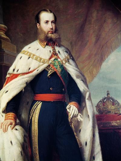 Maximilian of Hapbsburg-Lorraine-Alfred Graeffle-Giclee Print