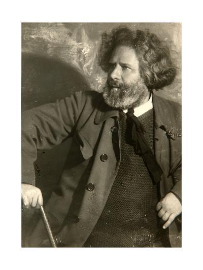 Maximilian Voloshin, Russian Poet, Early 1920S-Moisei Solomonovich Nappelbaum-Giclee Print