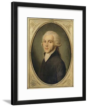 Maximilien de Robespierre, représenté en costume de député du Tiers-Etat en 1789 (1759-1794)