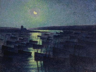 Camaret, Moonlight and Fishing Boats, 1894