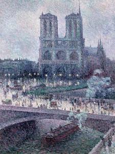 Notre Dame, C.1900 by Maximilien Luce