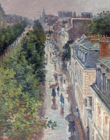 Scène De Rue À Paris (Street Scene in Paris) by Maximilien Luce