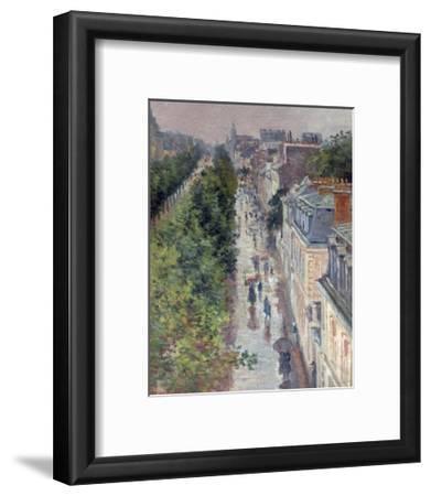 Scène De Rue À Paris (Street Scene in Paris)