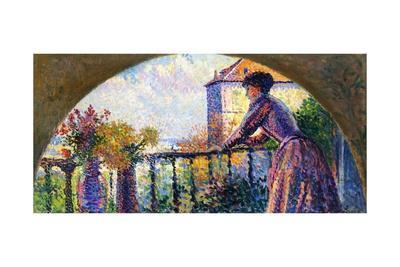 The Artist's Wife, Rue Cortot, Paris, 1893