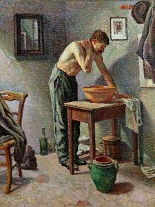 The Toilet, 1887 by Maximilien Luce