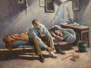 Morning Interior by Maximillian Luce