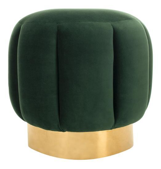 Maxine Channel Tufted Otttoman--Home Accessories