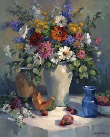 Fruit and Flowers by Maxine Johnston