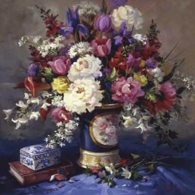 Mother's Italian Vase by Maxine Johnston
