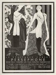 The Veritable Corset Persephone Renders the Sveltest Parisiennes Even Svelter by Maxmillian Fischer