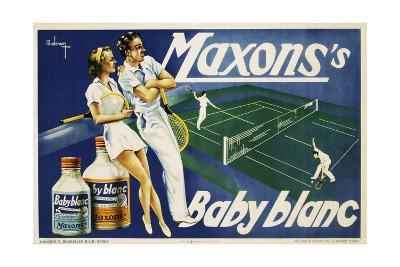 Maxons's Baby Blanc Linen Wash Poster--Giclee Print