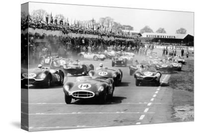 Scene at the Start of a Sports Car Race, Silverstone, Northamptonshire, (Late 1950S)