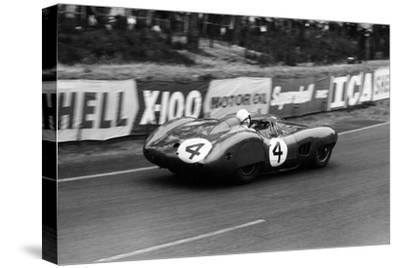 Stirling Moss in an Aston Martin Dbr1, Le Mans 24 Hours, France, 1959