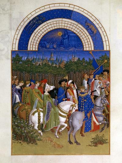 May, 1412-1416-Paul Limbourg-Giclee Print