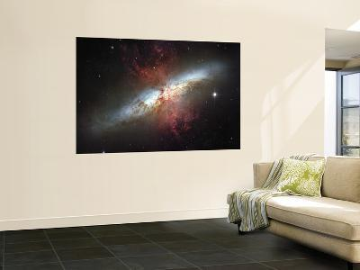 May 2006, Image of the Magnificent Starburst Galaxy, Messier 82 (M82)--Wall Mural