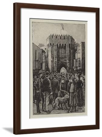 May Celebration at Southampton--Framed Giclee Print
