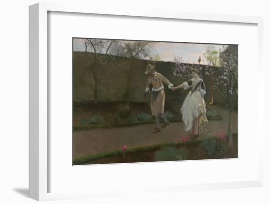 May Day Morning, 1890-94-Edwin Austin Abbey-Framed Giclee Print