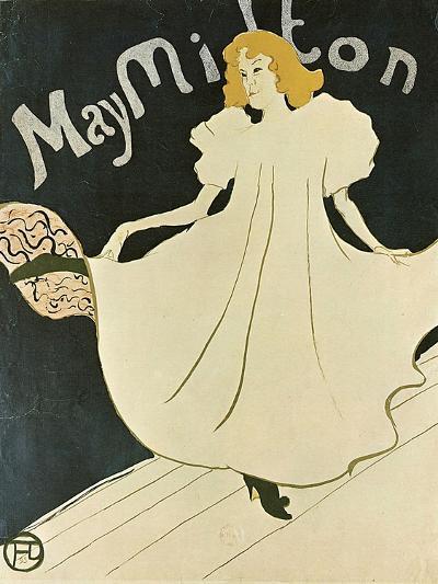 May Milton, 1895-Henri de Toulouse-Lautrec-Giclee Print