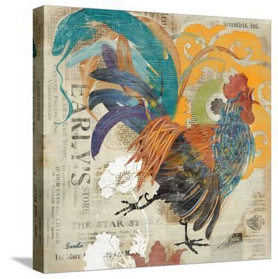 May Rooster--Stretched Canvas Print