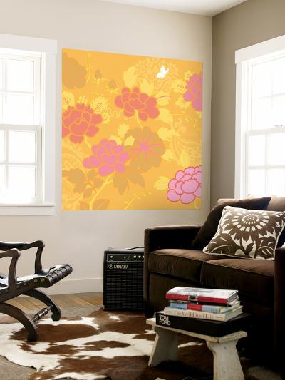 May's Roses I-Evelia Designs-Wall Mural