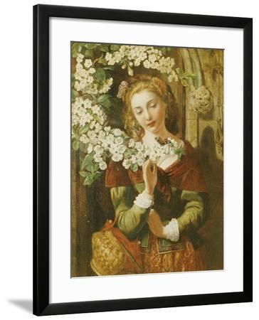 May-Daniel Maclise-Framed Giclee Print