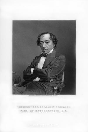 Benjamin Disraeli, 1st Earl of Beaconsfield, English Statesman and Literary Figure
