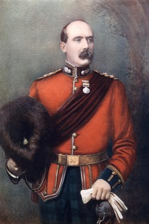 Lieutenant Colonel Aw Thorneycroft, Commanding Thorneycroft's Mounted Infantry, 1902