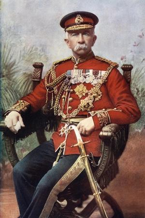 Sir Henry Evelyn Wood, English Field Marshal and a Recipient of the Victoria Cross, 1902