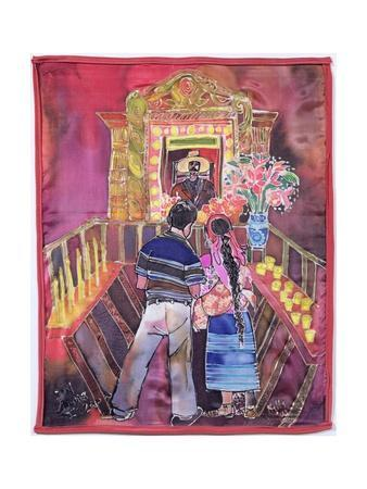 Mayan Couple, 2005-Hilary Simon-Giclee Print