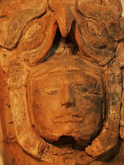 Mayan Funerary Urn, Popol Vuh Museum, Guatemala City, Guatemala, Central America-Upperhall-Photographic Print