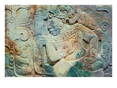 Pectoral of the King and a Courtier from Tikal