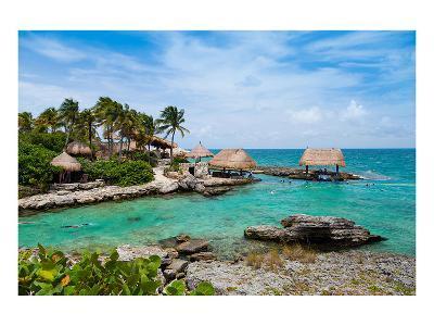 Mayan Riviera Paradise--Art Print