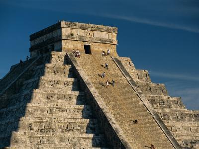 Mayan Ruins, Chichen Itza, Unesco World Heritage Site, Yucatan, Mexico, Central America-Gavin Hellier-Photographic Print